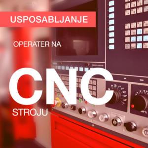 Usposabljanje za CNC-operaterja